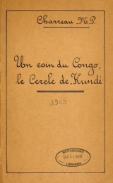 Cover of Un coin du Congo