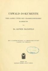 Cover of Urwald-Dokumente