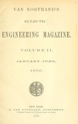 Cover of Van Nostrand's eclectic engineering magazine