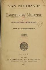 "Cover of ""Van Nostrand's engineering magazine"""