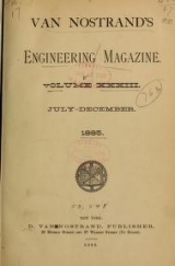 Cover of Van Nostrand's engineering magazine