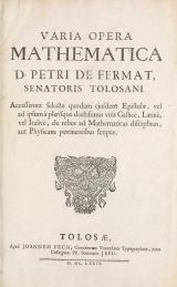 Cover of Varia opera mathematica