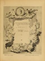 Cover of Vignettes du XVIIéme siècle et du XVIIIéme siècle