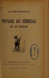 Cover of Voyage au Sénégal et au Soudan