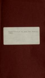 Cover of Voyage dans le pays des Trarzas, et dans le Sahara occidental