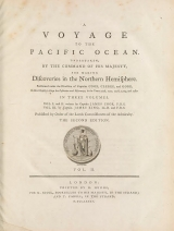 Cover of A voyage to the Pacific Ocean v. 2