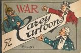 Cover of War, 52 Carey cartoons