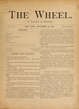 Cover of The wheel