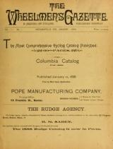 Cover of The Wheelmen's gazette