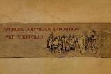 Cover of World's Columbian Exposition art portfolio