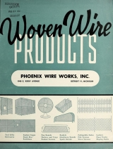 Cover of Woven wire products