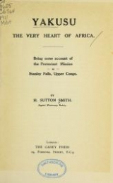 Cover of Yakusu, the very heart of Africa