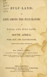 Cover of Zulu-land