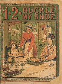"""Cover of """"1, 2, buckle my shoe"""""""