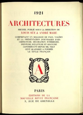 "Cover of ""Architectures"""