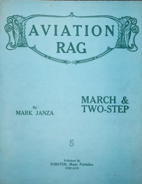 "Cover of ""Aviation rag"""