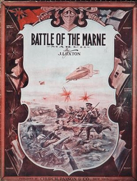 """Cover of """"Battle of the Marne"""""""