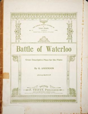 "Cover of ""Battle of Waterloo"""