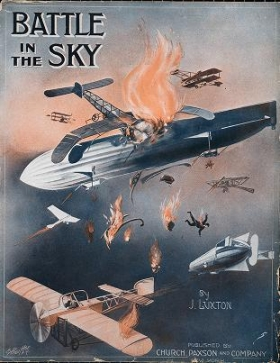 "Cover of ""Battle in the sky /"""
