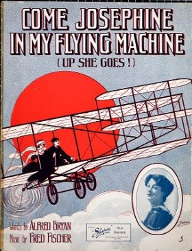 "Cover of ""Come Josephine in my flying machine"""