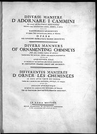 """Cover of """"Diversi maniere d'adornare i cammini"""""""