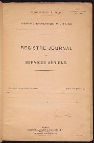 Cover of Escadrille N. 124 journal de marche