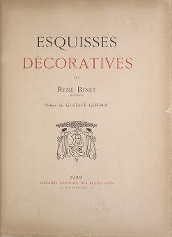 "Cover of ""Esquisses décoratives /"""