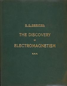 """Cover of """"Experimenta circa effectum conflictus electrici in acum magneticam"""""""