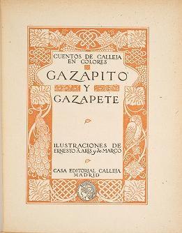 """Cover of """"Gazapito y Gazapete /"""""""