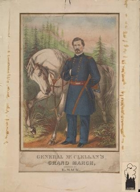 """Cover of """"General McClellan's grand march /"""""""