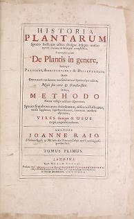 "Cover of ""Historia plantarum v 1"""