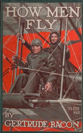 """Cover of """"How men fly /"""""""