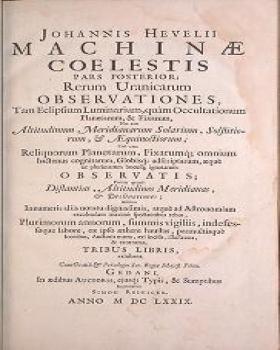 "Cover of ""Machinæ coelestis pars prior[-posterior]"""
