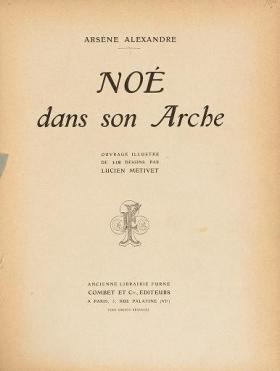 """Cover of """"Noé dans son arche"""""""