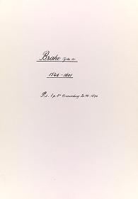 """Cover of """"Tycho Brahe note acknowledging receipt of money"""""""