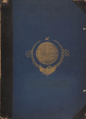 "Cover of ""Recollections of the Great Exhibition, 1851."""