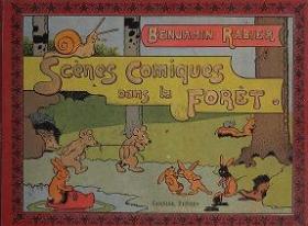 """Cover of """"Scènes comique dan la forêt"""""""
