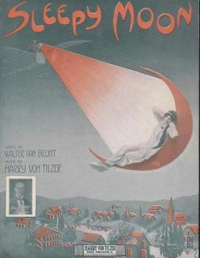 """Cover of """"Sleepy moon /"""""""