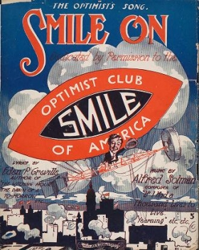 """Cover of """"Smile on"""""""