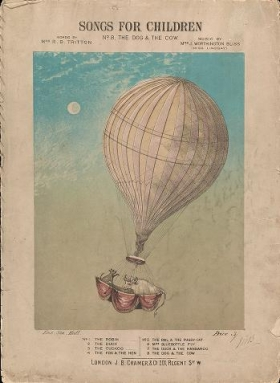 "Cover of ""Songs for children"""
