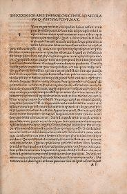"""Cover of """"Theophrasti De Historia plantarum liber primus[-decimus] /"""""""
