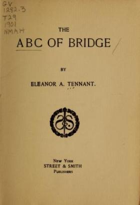 "Cover of ""The abc of bridge /"""