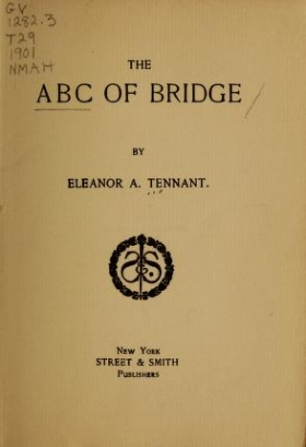 "Cover of ""The abc of bridge /"""