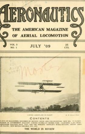 "Cover of ""Aeronautics"""