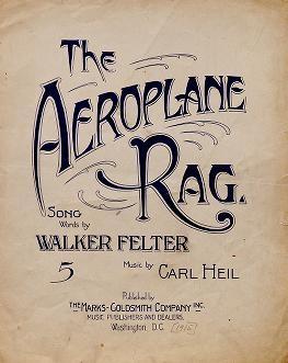 "Cover of ""The aeroplane rag"""
