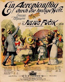 """Cover of """"Ein Aeroplanflug durch die lustige Welt"""""""