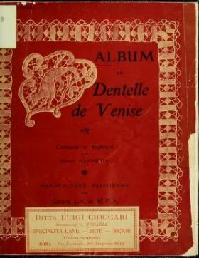 """Cover of """"Album de dentelle de Venise"""""""