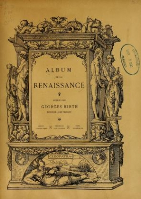 "Cover of ""Album de la Renaissance /"""