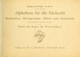 """Cover of """"Alphabete für die Stickerin"""""""