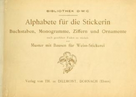 "Cover of ""Alphabete für die Stickerin"""